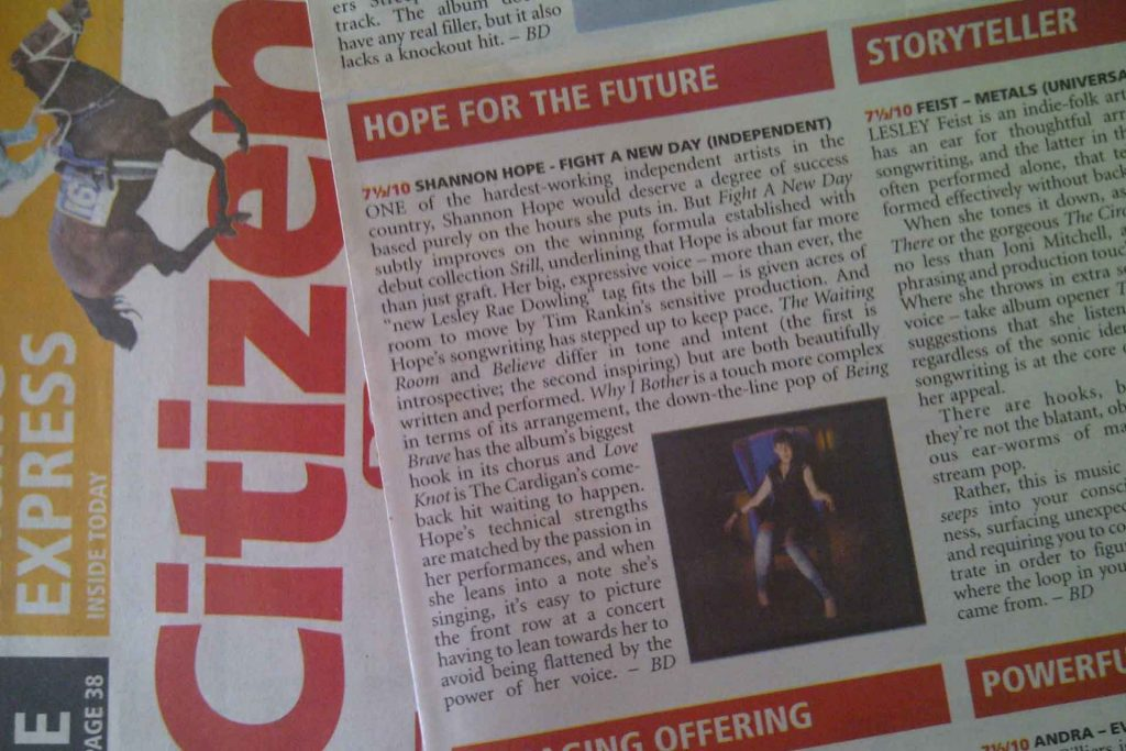 """ALBUM REVIEW – """"HOPE FOR THE FUTURE"""""""