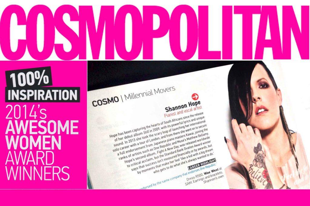 Cosmopolitan Awesome Women Award